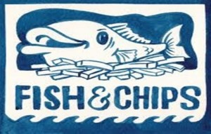 half price Fish and chips